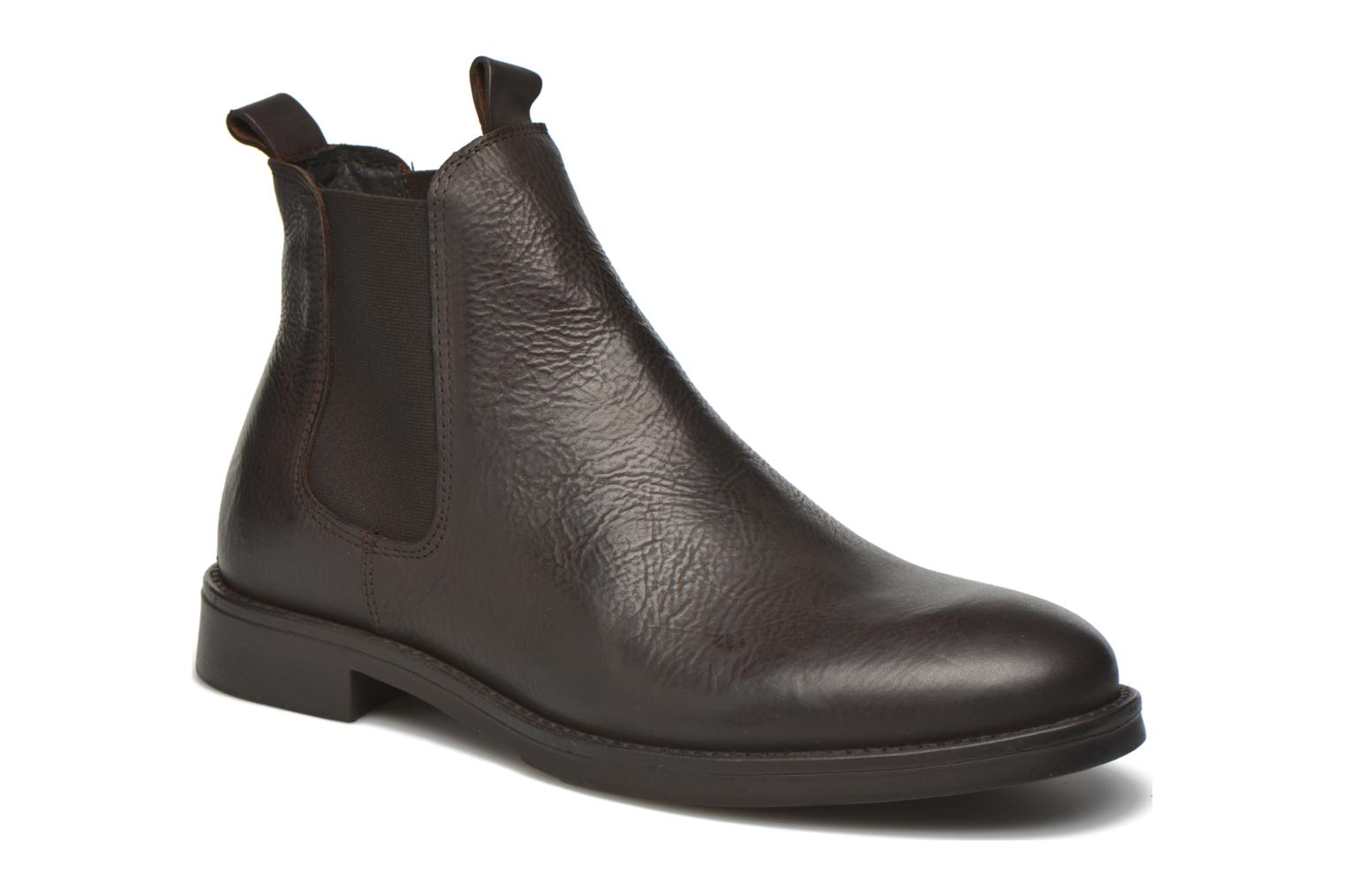 Bottines et boots Selected Homme Marc Marron vue détail/paire